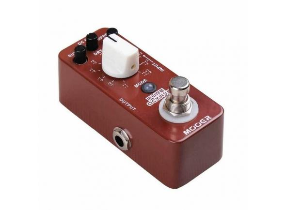 Outros efeitos para guitarra elétrica Mooer Pure Octave