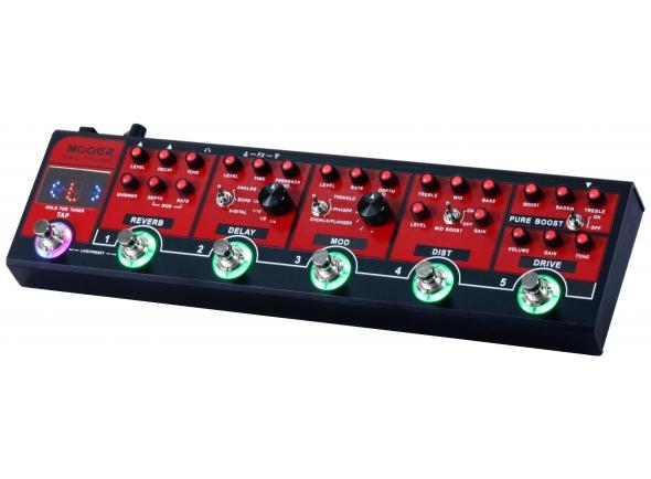 Pedaleiras para guitarra elétrica Mooer Red Truck