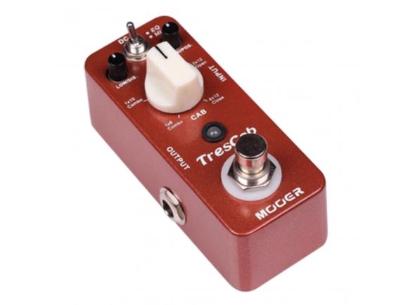 Outros efeitos para guitarra elétrica Mooer TresCab