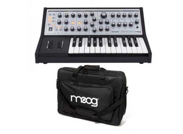 Sintetizadores e Samplers Moog Sub Phatty Bag Bundle