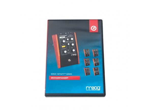 Livros de teclado Moog Training Video Moogerfooger