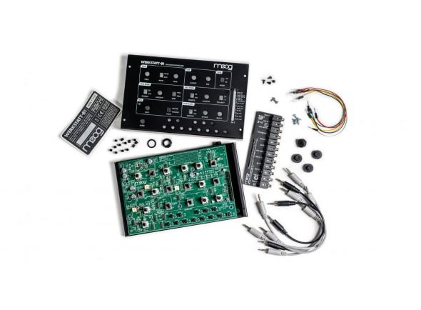 Sintetizadores e Samplers Moog Werkstatt-01 and Expander