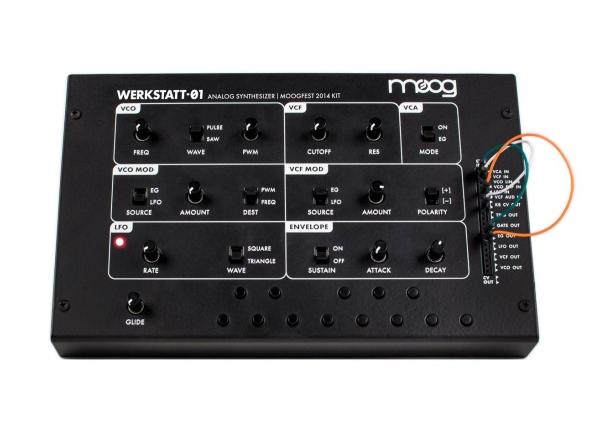 Sintetizadores e Samplers Moog Werkstatt 01