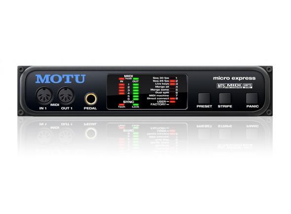 Interfaces MIDI MOTU Micro Express 2 USB
