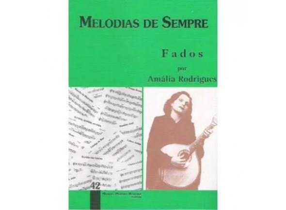 Livro de canções/Livro de canções MPR Livro Melodias De Sempre Volume 42 Amália Rodrigues