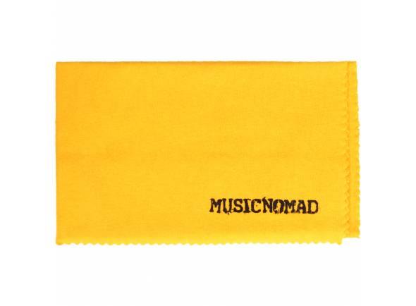 Produtos de limpeza para guitarra Musicnomad Pano Flanela