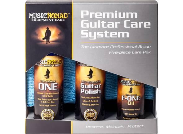 Ver mais informações do  Musicnomad Premium Guitar Care System