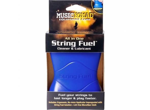 Produtos de limpeza para guitarra Musicnomad String Fuel