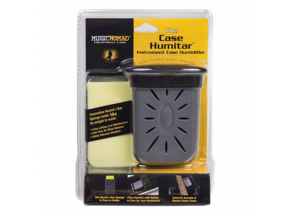 Produtos de limpeza para guitarra Musicnomad The Case Humitar