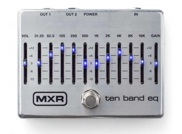 Equalizadores MXR 10 Band Equalizer Silver