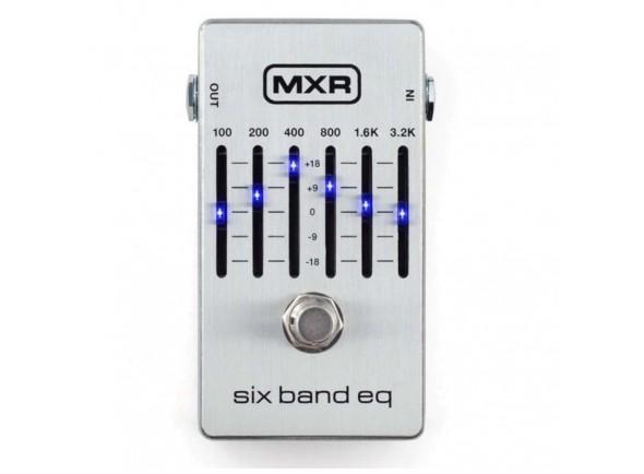 Equalizadores MXR 6 Band Equalizer Silver