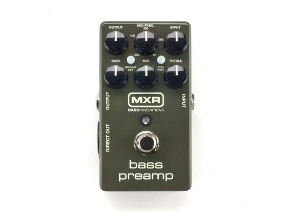 Pedais para baixo MXR Dunlop  M81 Bass Preamp