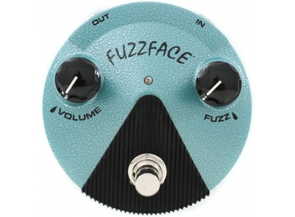 Pedal de distorção MXR FFM3 Jimi Hendrix Fuzz Face Mini Distortion
