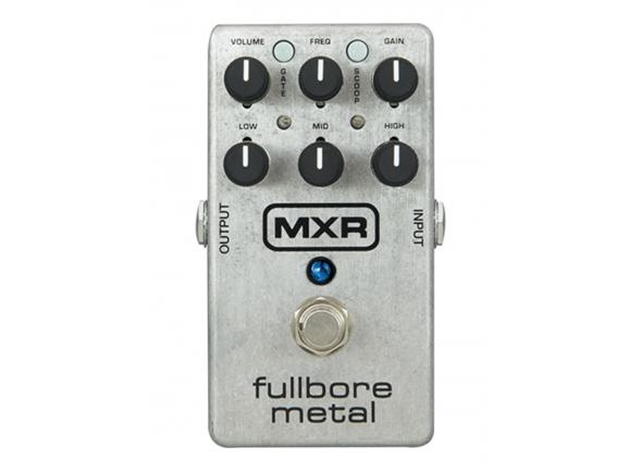 Pedal de distorção MXR M116 Fullbore Metal