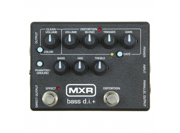 Pedais para baixo MXR M80 Bass Di Plus