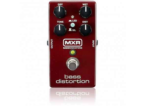 Pedais para baixo MXR M85 Bass Distortion