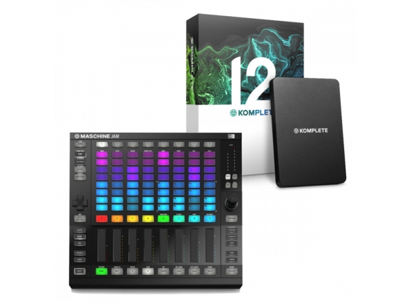 Controladores DJ Native Instruments Komplete 12 UPG + Maschine Jam