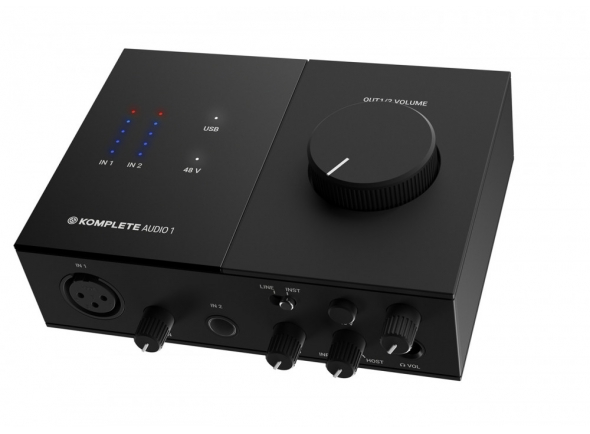 Interface Áudio USB Native Instruments Komplete Audio 1