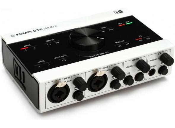 Interface Áudio USB Native Instruments Komplete Audio 6