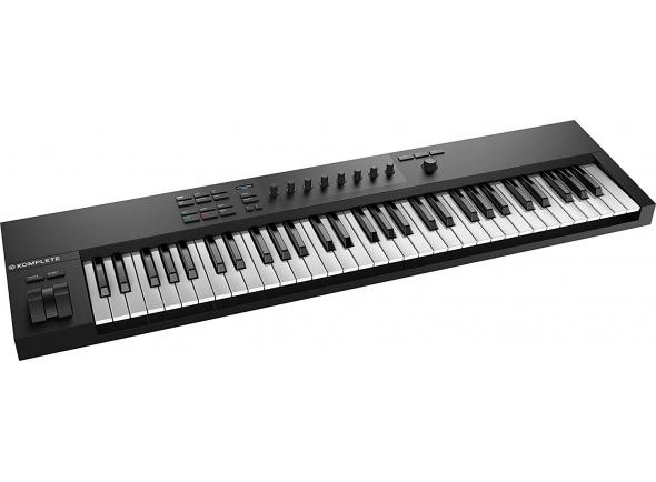 Teclados MIDI Controladores Native Instruments Komplete Kontrol A61