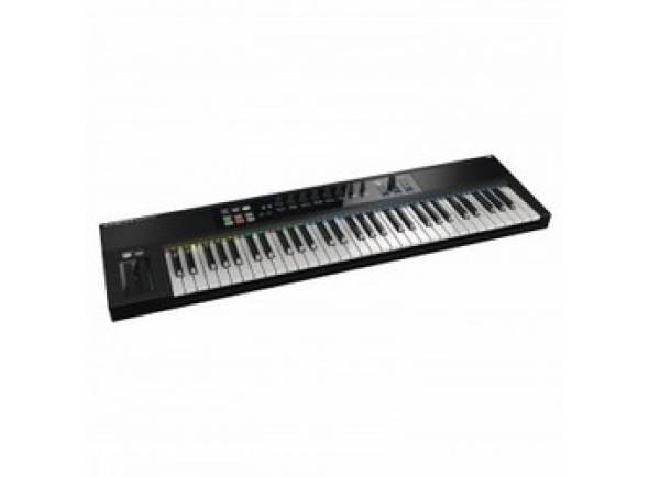 Teclados MIDI Controladores Native Instruments KOMPLETE KONTROL S61  Native Instruments - Komplete Kontrol S61  . Controlador midi 61 teclas semi-pesadas fatar  . Assignação directa para instrumentos Komplete  . Arpegios, acorde e escalas a partir de notas individuais  . Sistema led multicolor guia