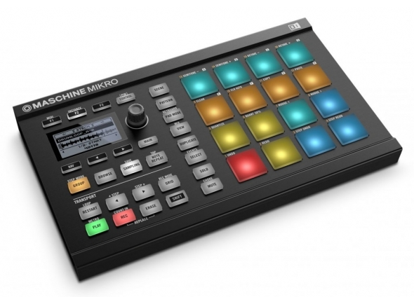 Ver mais informações do  Native Instruments Maschine Mikro MK2 Black