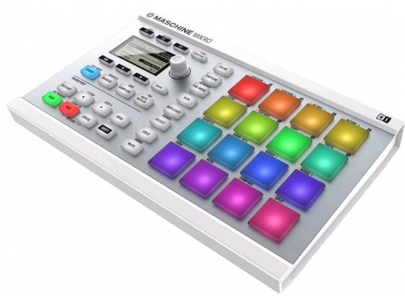 Ver mais informações do  Native Instruments Maschine Mikro MK2 White