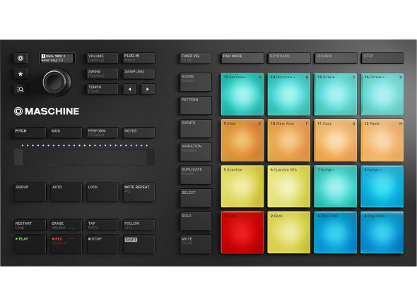 Controladores DJ Native Instruments Maschine Mikro MK3 B-Stock
