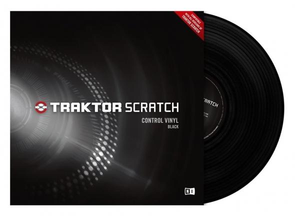 Outros acessórios Native Instruments Traktor Control Vinyl Black