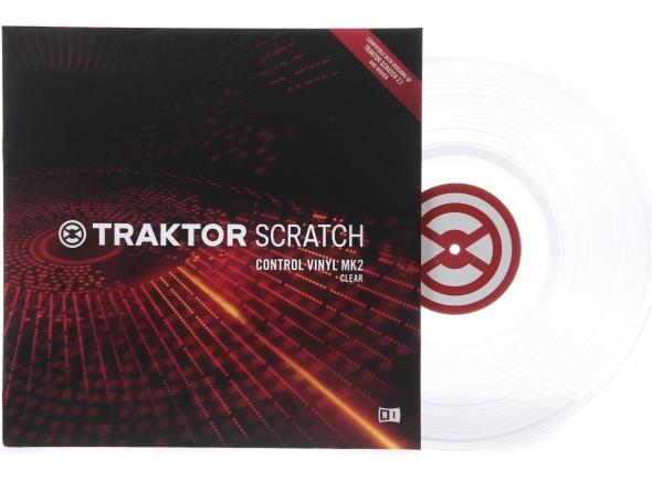 Outros acessórios Native Instruments Traktor Control Vinyl Clear
