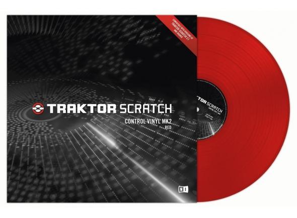 Outros acessórios Native Instruments Traktor Control Vinyl Red