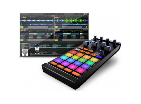 Controladores DJ Native Instruments Traktor Kontrol F1 B-Stock