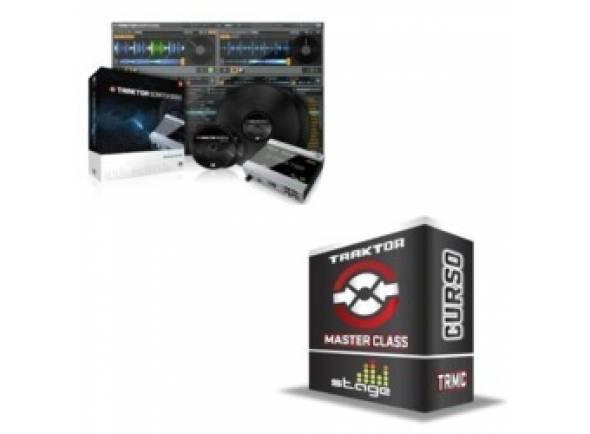 Hardware e Software para computadores Native Instruments Traktor Scratch A6+Masterclass