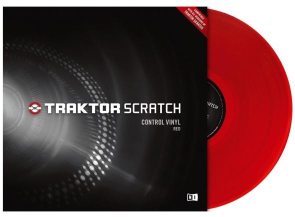 Acessórios para Software DJ Native Instruments Traktor Scratch Vinyl Red Mk2