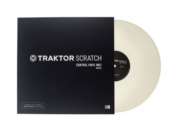 Acessórios para Software DJ Native Instruments Traktor Scratch Vinyl Wh Mk2