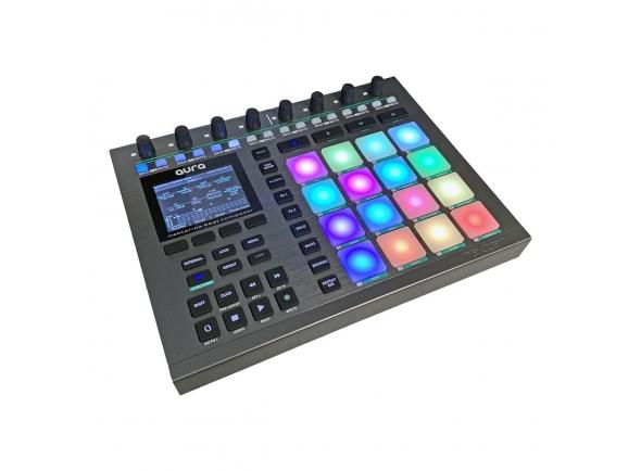 Teclados MIDI Controladores Nektar Aura Beat Composer Pad Controller