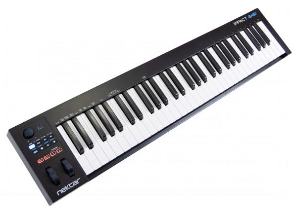 Teclados MIDI Controladores/Teclados MIDI Controladores Nektar Impact GX 61