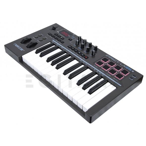 Teclados MIDI Controladores/Teclados MIDI Controladores Nektar Impact LX25+