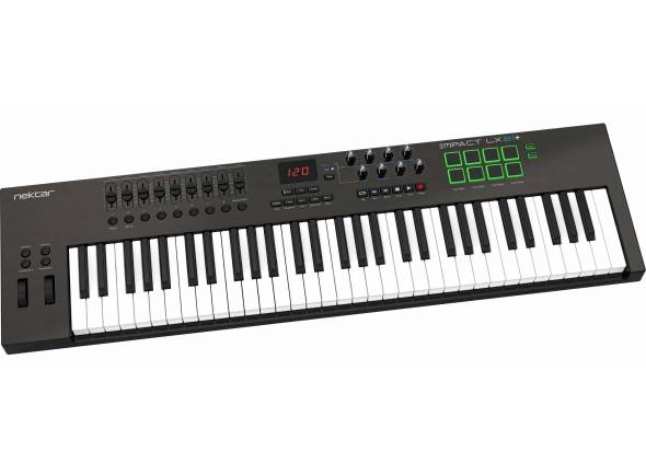 Teclados MIDI Controladores/Teclados MIDI Controladores Nektar Impact LX61+