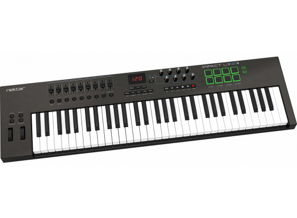 Teclados MIDI Controladores/Teclados MIDI Controladores Nektar Impact LX61+ B-Stock