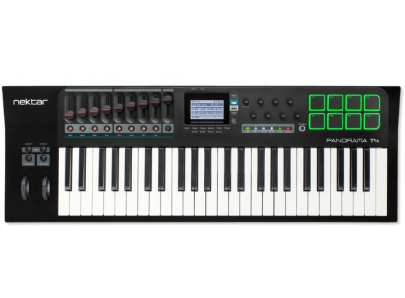 Teclados MIDI Controladores Nektar Panorama T4