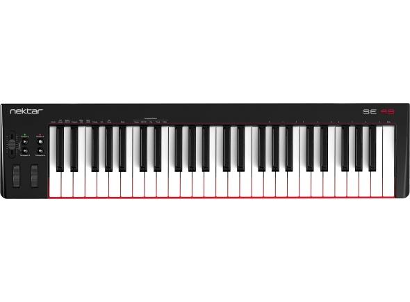Controlador midi/Teclados MIDI Controladores Nektar SE49