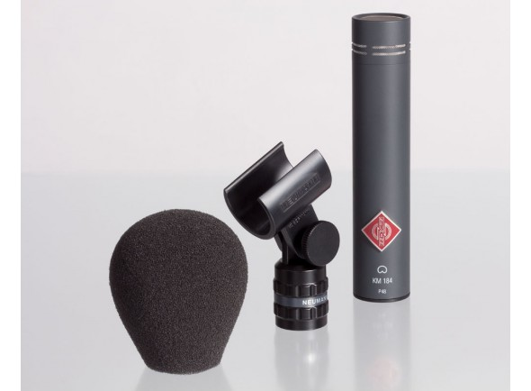 Microfone condensador de diafragma pequeno/Microfone condensador membrana pequena Neumann KM184mt