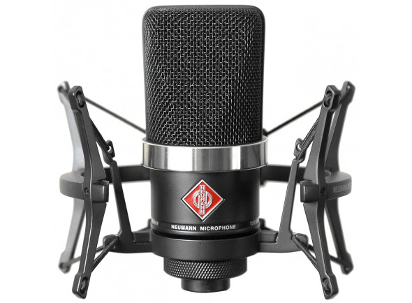 Microfone de membrana grande Neumann  TLM 102 Studio Set Black