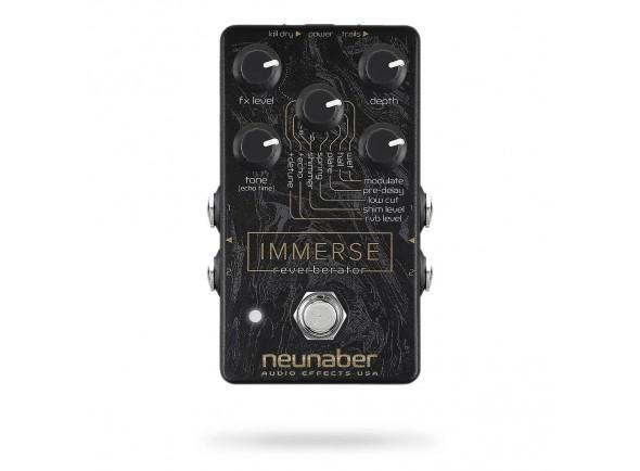 Pedal de Efeito/Chorus/ Flanger/ Phaser Neunaber Immerse Reverberator