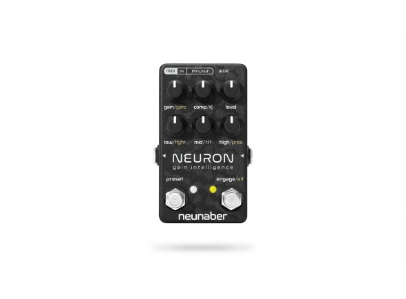 Pré-amplificador / Overdrive / Distorção/Pedal de distorção Neunaber Neuron Gain Intelligence