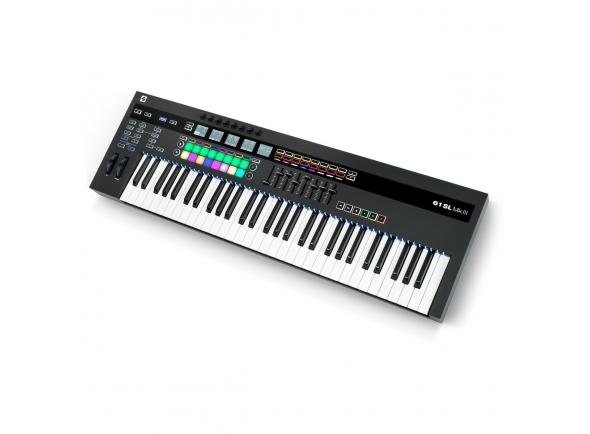 Teclados MIDI Controladores Novation 61SL MKIII