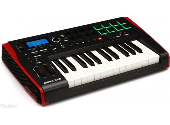 Teclados MIDI Controladores Novation Impulse 25