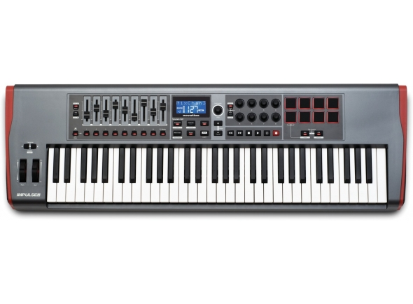 Teclados MIDI Controladores Novation Impulse 61