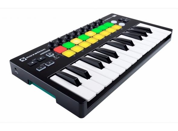 Teclados MIDI Controladores Novation Launchkey 25 MK2
